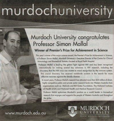 murdoch university ad