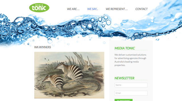 mediatonic.com.au screenshot
