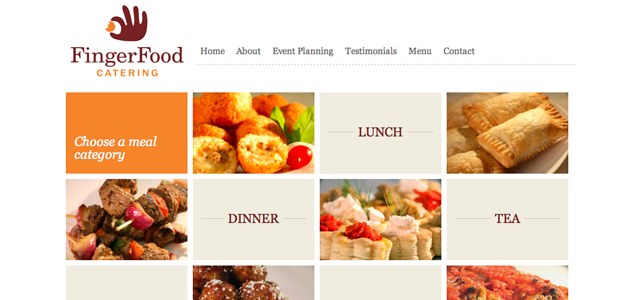 fingerfoodcatering screenshot