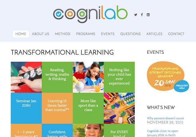 Cognilab screenshot