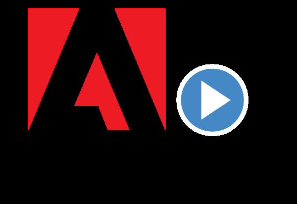 Adobe logo, spelled as Abode